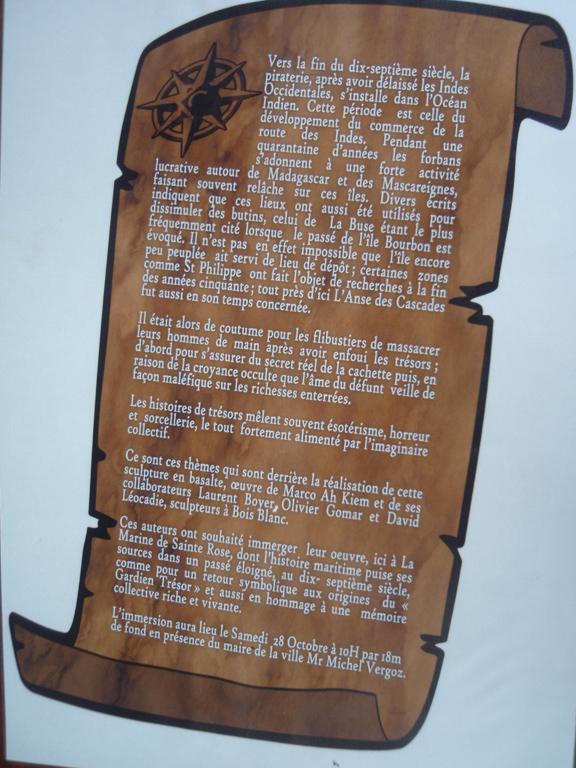 Histoire Gardien Trésor