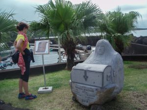 Gardien Trésor au Port de Sainte Rose